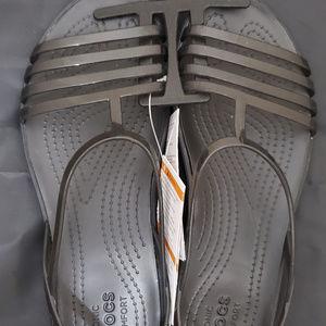 Crocs Isabella Strappy Sandal Black 8